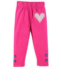 Dutch Bakery Leggings in Fuchsia