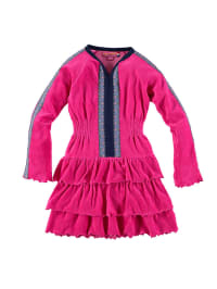Dutch Bakery Kleid in Fuchsia