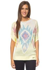 """Desigual Shirt """"Annelore"""" in Hellgelb/ Bunt"""
