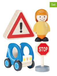 "Hape Toys 5tlg. Set: ""Annes blaues Auto"" - ab 18 Monaten"