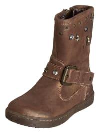 Primigi Leder-Stiefel in Braun