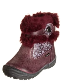 Primigi Leder-Boots in Bordeaux