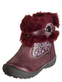 Primigi Leder-Boots in Bordeaux