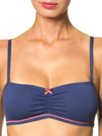 Skiny Bandeau-Top in Dunkelblau