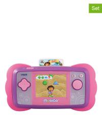 """V-Tech 2tlg. Set: MobiGo und Lernspiel """"Dora"""" - ab 4 Jahren"""