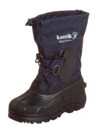 """Kamik Winterstiefel """"Southfros2"""" in dunkelblau/ schwarz"""