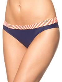 Skiny Bikini-Slip in Dunkelblau/ Rot/ Weiß