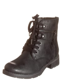 Marco Tozzi Boots in Schwarz