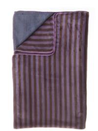 "David Fussenegger Decke ""Split"" in Blau/ Violett"