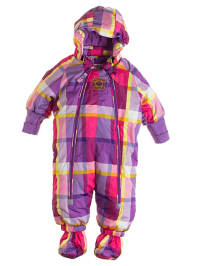 "Legowear Schneeanzug ""Joe 613"" in Lila/ Pink/ Bunt"