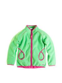 "Legowear Fleecejacke ""Savanna 605"" in Grün/ Pink"