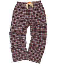 """Mini Vanilla Pyjamahose """"Franham"""" in Rot/ Dunkelblau"""