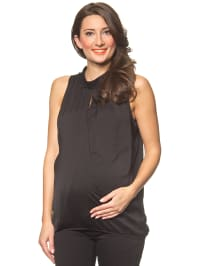 "Mama licious Top ""Goldy"" in Schwarz"