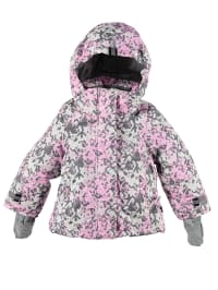 XSExes Winterjacke in Rosa/ Weiß/ Grau
