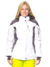 "Killtec Ski-/ Snowboardjacke ""Haina"" in Weiß/ Grau"