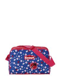 """Scout Sporttasche """"I Julie"""" in Blau/ Rot - (B)33 x (H)22 x (T)15 cm"""