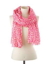 Codello Baumwoll-Schal in Pink - (B)70 x (L)190 cm