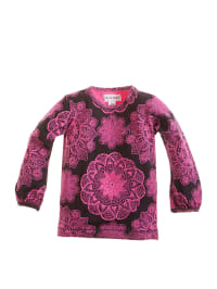 Phister & Philina Longsleeve in Pink/ Schwarz
