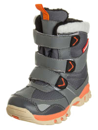 "Elementerre Winterstiefel ""Uelen"" in Anthrazit/ Orange"