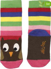 Toby Tiger 2er-Set: Socken in Bunt