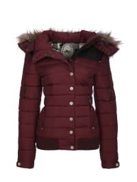MyMo Jacke in Bordeaux