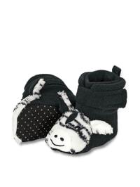 Sterntaler Baby-Schuhe in Schwarz/ Weiß