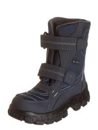 Richter Shoes Stiefel in Anthrazit/ Dunkelblau