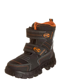 Richter Shoes Boots in Schwarz/ Orange