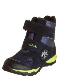 Clarks Boots in Dunkelblau