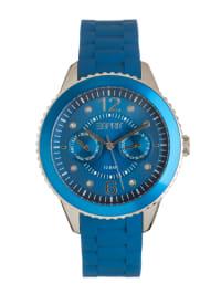 "ESPRIT Quarzuhr ""Marin 68"" in Blau/ Silber"