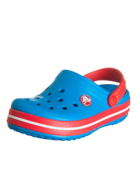 "Crocs Clogs ""Crocband Kids"" in Blau/ Rot"