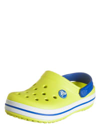 "Crocs Clogs ""Crocband Kids"" in Gelb/ Weiß/ Blau"