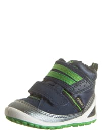 Ecco Sneakers in Dunkelblau/ Grün