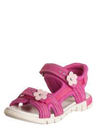 Gabor Leder-Sandalen in Pink