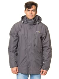 "Regatta 3-in-1 Funktionsjacke ""Whitestone"" in Grau"