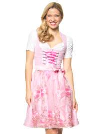 """Turi Landhaus Midi-Dirndl """"Rosemarie"""" in Rosa/ Pink"""