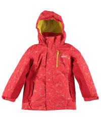 "Regatta 3in1-Funktionsjacke ""Moonflare"" in Rot/ Limette"