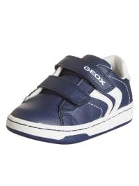"""Geox Sneakers """"Mania"""" in Dunkelblau/ Weiß"""