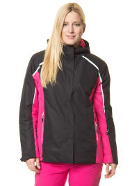 "Raiski Ski-/Snowboardjacke ""Cati"" in Schwarz/ Pink"