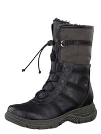 Tamaris Winter-Boots in Schwarz/ Anthrazit