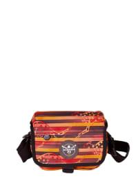 """Chiemsee Umhängetasche """"Shoulderbag S"""" in Rot/ Orange/ Schwarz - (B)21 x (H)15 x (T)6 cm"""