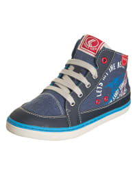 "Geox Sneakers ""Kiwi"" in Blau/ Rot"