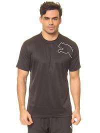 Puma Sportshirt in Schwarz
