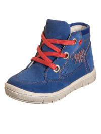 Indigo Sneakers in Blau/ Orange