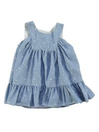 TroiZenfants Kleid in Hellblau/ Weiß