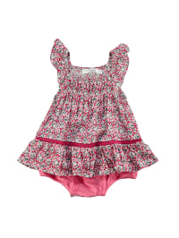 TroiZenfants Bodykleid in Weiß/ Pink/ Bunt