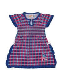 Dutch Bakery Kleid in Magenta/ Blau