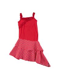 ZieZoo Kleid in Rot