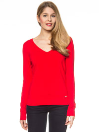 More & More Pullover in Rot