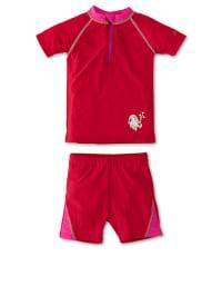 Sterntaler Schwimmanzug in Rot/ Pink